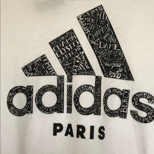 NWT Adidas Paris T-Shirt Size Medium